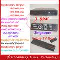 Blackbox anual C808 Plus, C801, 700HDC, MUX HDC900SE, HD-C600, C608, MVHD HD800C-VI, Fluxo caixa C1, QBOX 5000HDC Caixa Remoto