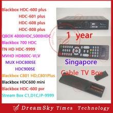 ประจำปีBlackbox C808พลัส, C801, 700HDC, MUX HDC900SE, HD-C600, C608, MV HD HD800C-VI,สตรีมกล่องC1, QBOX 5000HDCกล่องระยะไกล