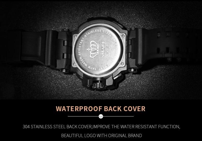 relógio digital choque resistente 30 m à