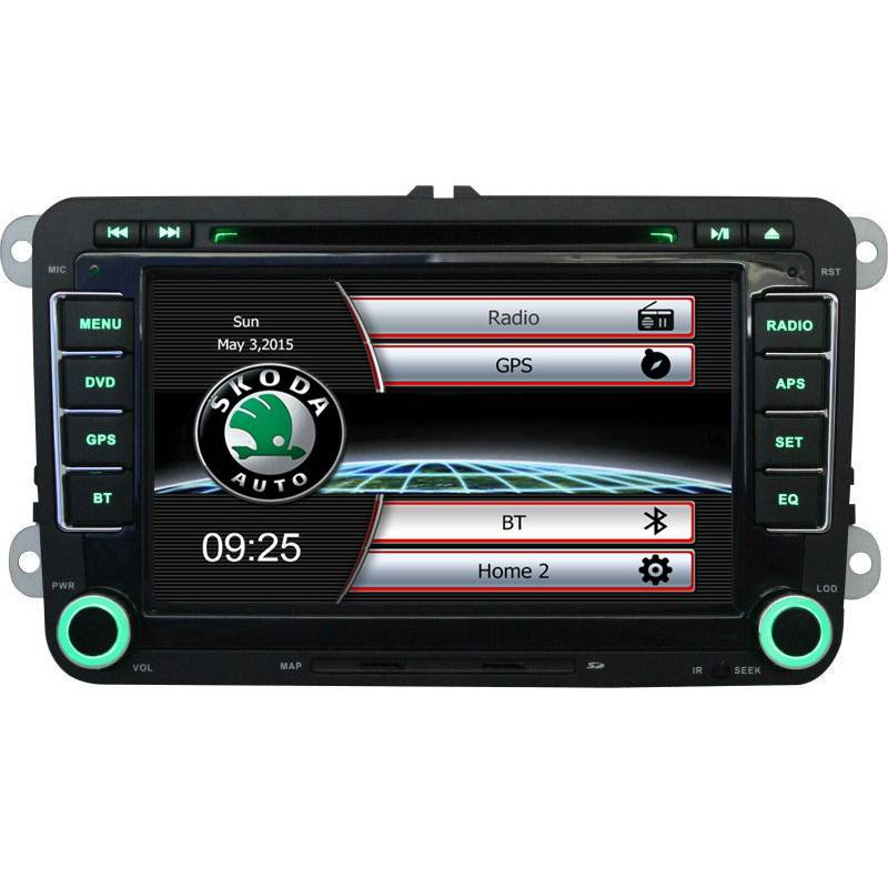 7 HD Capacitive Screen font b Car b font CD DVD Player with GPS font b