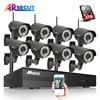 2.0 Megapixel 1080P HD Outdoor IR Varifocal 2.8-12mm Wireless WIFI Network IP Camera Onvif H.264 8CH NVR CCTV System Kit 3TB HDD