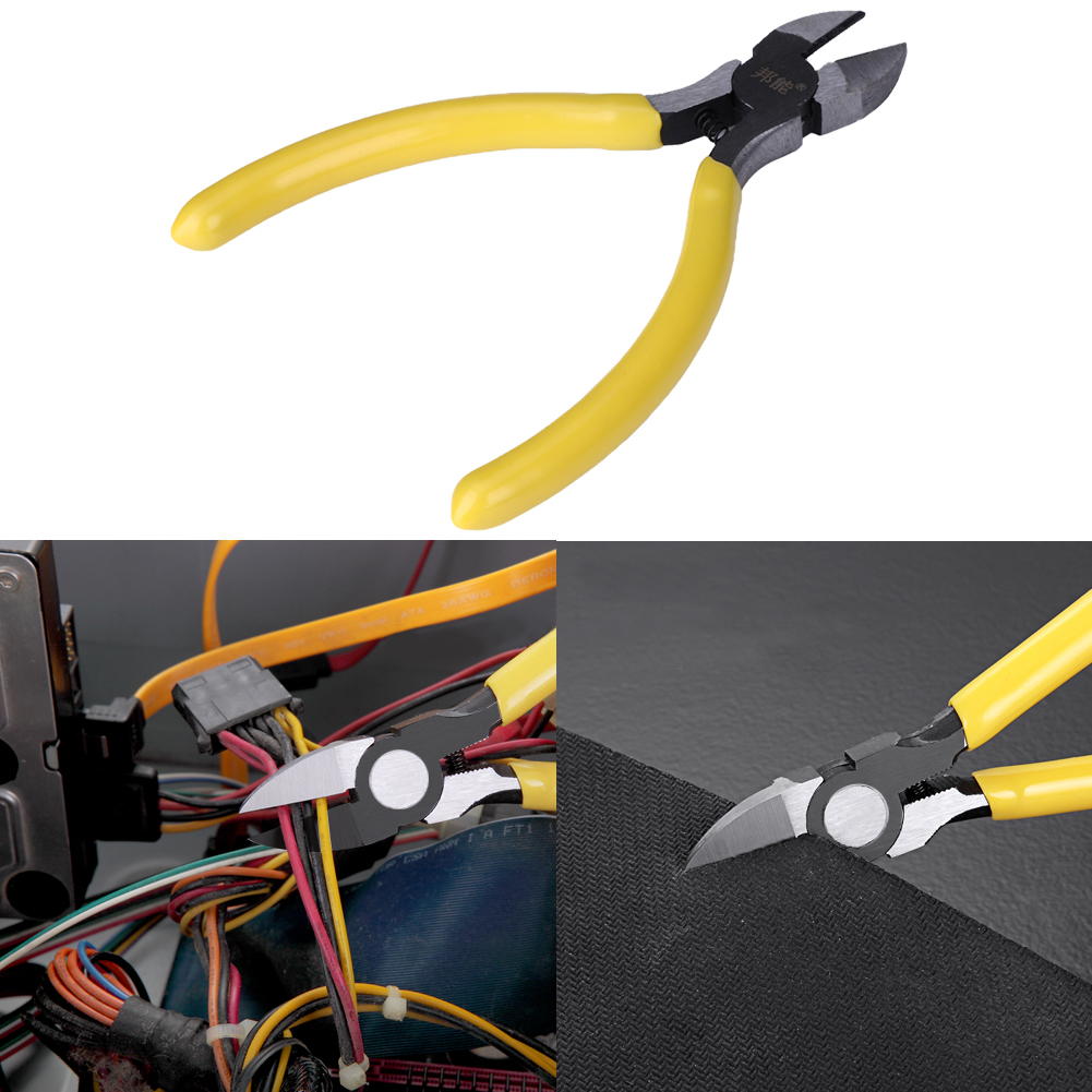Zangen Werkzeuge 4,6 portable Seitenschneider Seite Schneidzange Draht/kabel Cutter Reparatur Cuttting Neugierigen Nipper Elektriker Werkzeug Weniger Teuer