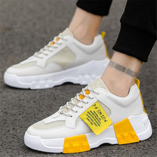 Spring Autumn Classic New MenS sneakers Shoes Low-Cut Casual Flyweather Fashion Low To Help Men shoes