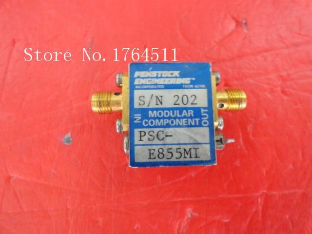 BELLA Supply PENSTOCK PSC E855M1 amplifier SMA