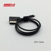 MARFLO Araç Şarj Aux Müzik Arayüzü AMI Kablo Audi VW Medya Oto Artı Ben telefon 7 6 S 6 5 S 5 AUDI Q5 için A5 A7 R7 S5 Q7 A6 A8