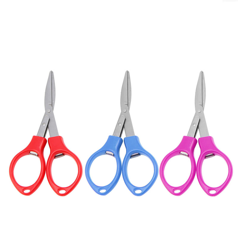 Stainless Steel Retractable folding  Fishing Scissor Mini Cutter for  Tourism  fishing mountain climbing hiking outdoor Stainless Steel Retractable folding  Fishing Scissor Mini Cutter for  Tourism  fishing mountain climbing hiking outdoor