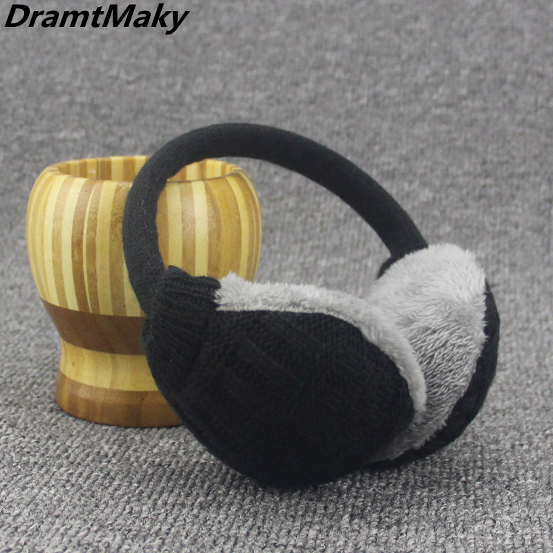 New Fashion Fur Winter Earmuffs For Women Warm Earmuffs Ear Warmers Gifts For Girls Cover Ears Brand Masks Fur Headphones Winter