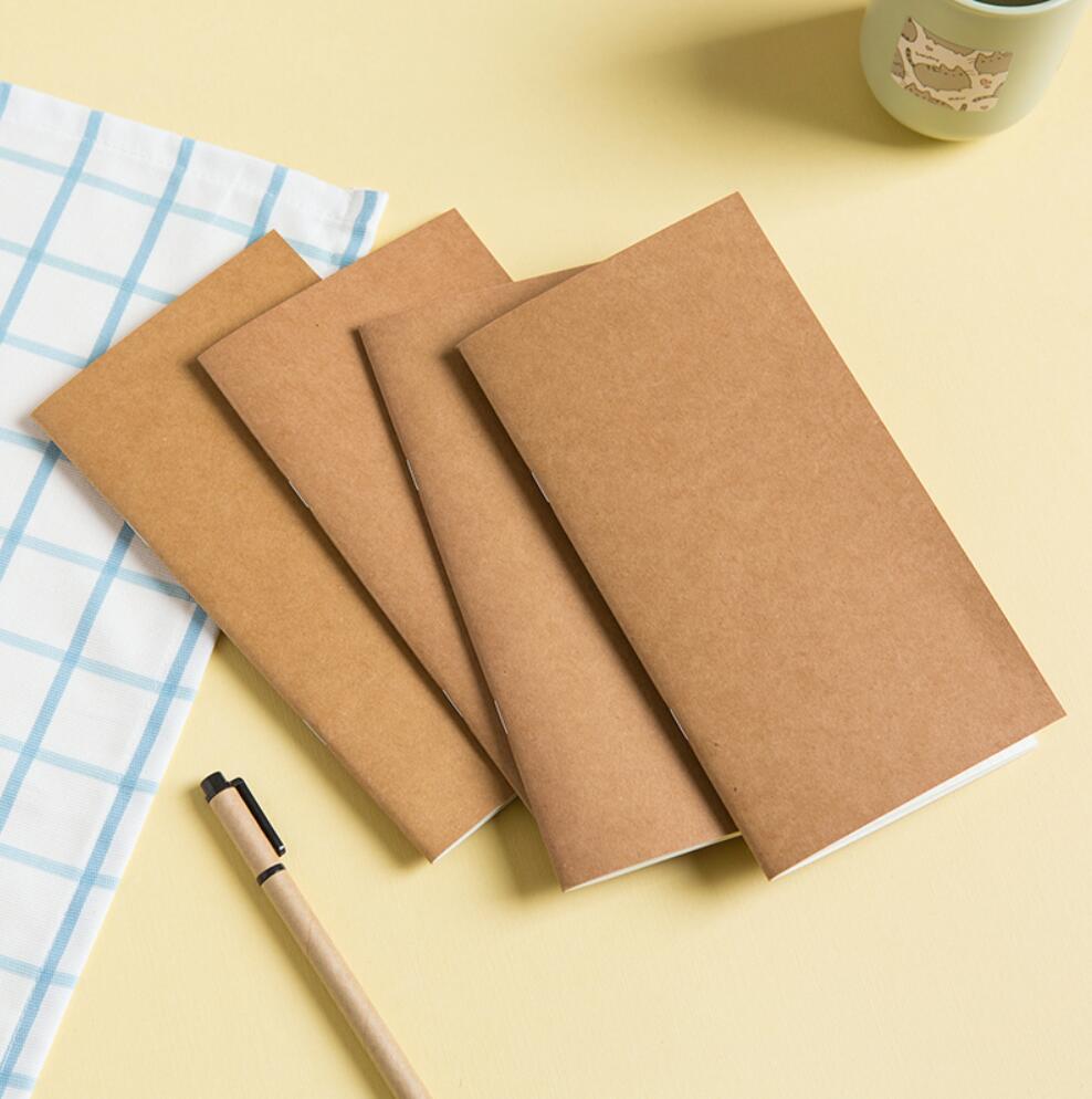 Vintage Kraft Paper  Traveler's Notebook Refill Notepad Diary Journal 9.5 X16.5 cm  11X 21cm