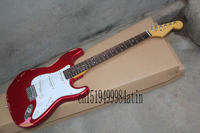 Free Shipping Top Quality Robert Cray Stratocaster Silver Electric Guitar Sss Pickups Custom Body 22