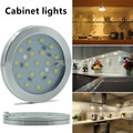 2pcs/Lot Cabinet lights 6W LED Bulb Lamp Cool White/Warm White 85-265V for Showcase Wardrobe Kitchen Cabinet Lighting