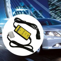 Professional Auto Car USB Aux In Cable Adapter MP3 Player Radio Interface For Toyota 5 7P
