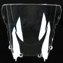 Pare-brise en cristal pour Yamaha, pour YZF R6 YZF-R6 1998 2000 2001 2002 1999