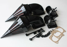 motorcycle parts Spike Air Cleaner Kit intake for  Suzuki all year Boulevard M109 BLACK