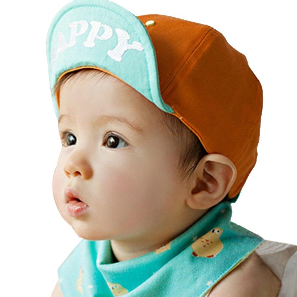 b1184f30d36 Lovely Infant Unisex Boys Girls Letter Printed Baseball Cap Cotton Sun Hat  S14
