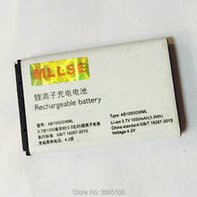 AB1050CWMC AB1050GWMT battery For philips X116 X125 X126 X128 cellphone AB1050FWMX Batterie for XENIUM Batteries Tracking Code(China)