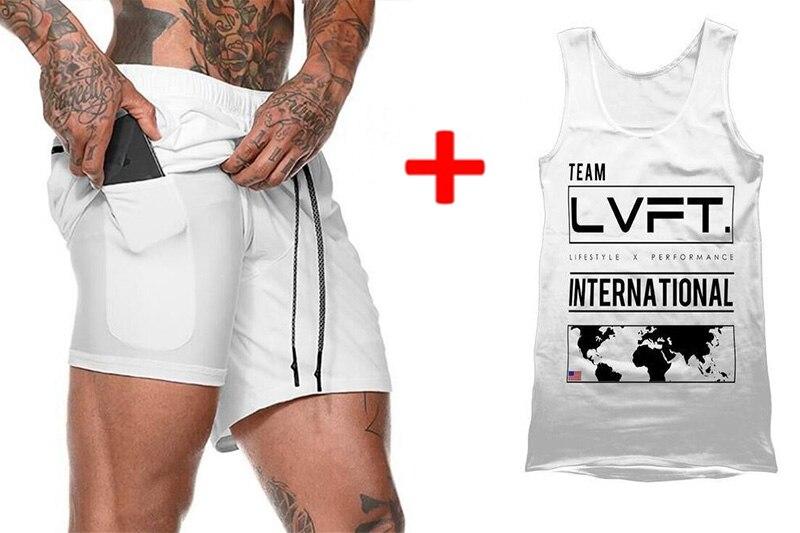 Breathable Sportswear Vest Men/'s Gym FITNESS GEAR