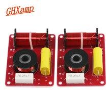 GHXAMP 2 VIE Crossover Diffusori Da Scaffale Filtro Audio Surround Bassi alti 2 Unità di Crossover Divisore di Frequenza 12db 130 W 2 PZ