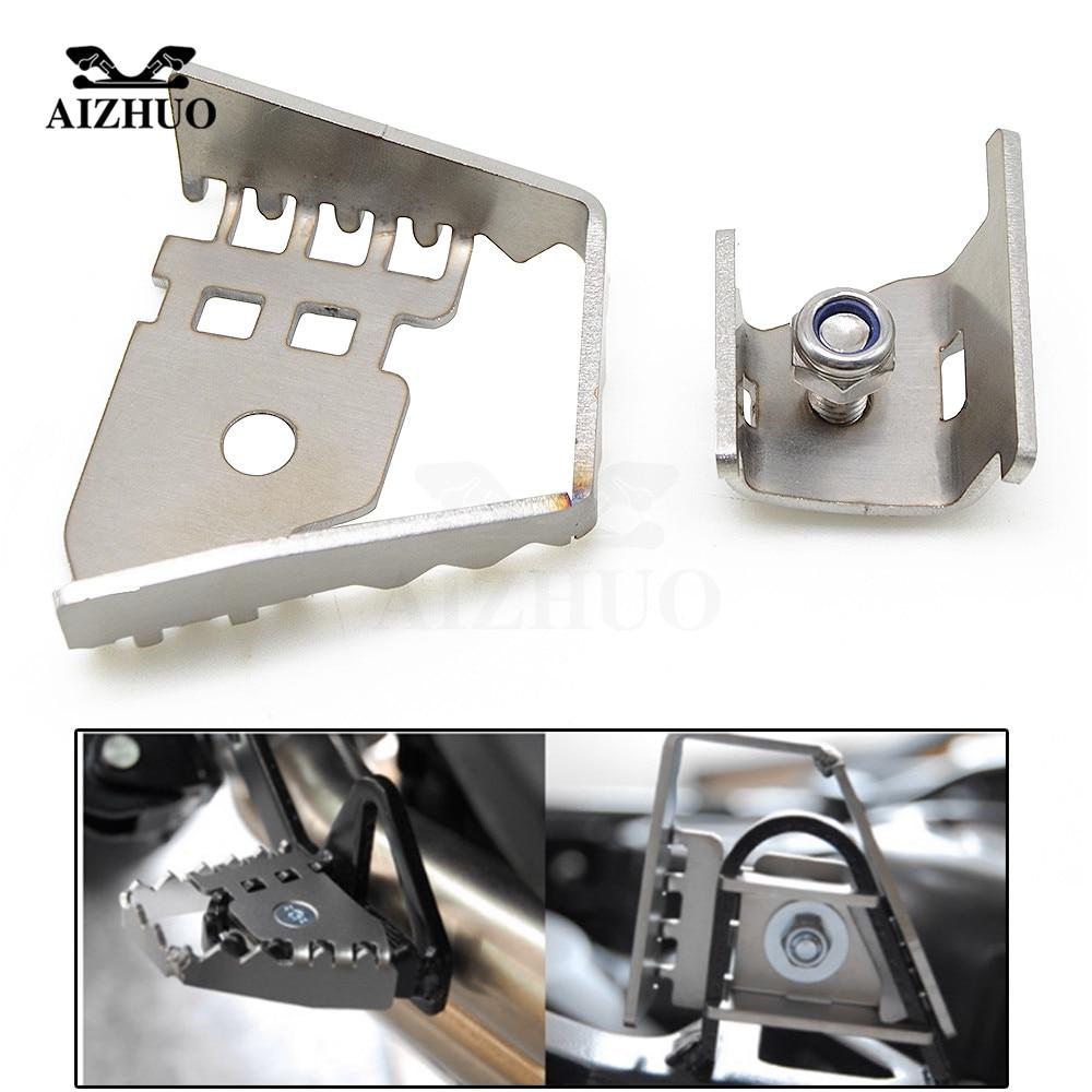 CNC Alloy Moto Brake Lever Peg Enlarge Extendison For BMW R1150GS R1200GS LC ADV