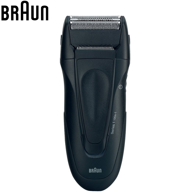 Braun Electric Shavers razor 195s-1 Triple Reciprocating Blades Rechargeable For Men Safety Electric Shaving & Hair Removal braun electric shavers 5030s rechargeable reciprocating blades high quality shaving safety razors for men