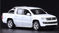 High Simulation Exquisite Collection Toys Caipo Car Styling Volkswagen Amarok Model 1 30 Alloy Truck Model