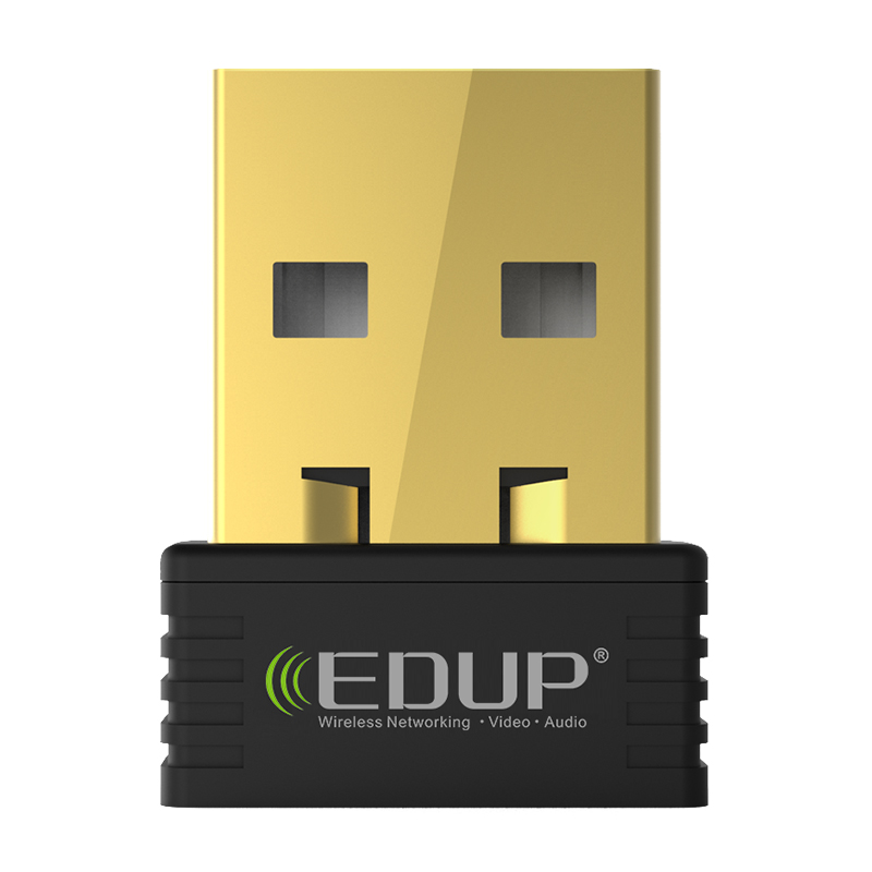 EDUP mini usb wireless wifi adapter 150mbps wi-fi receiver 802.11n usb ethernet adapter network card Support Windows Mac for PC mini wi fi wlan wireless network usb 2 0 adapter black