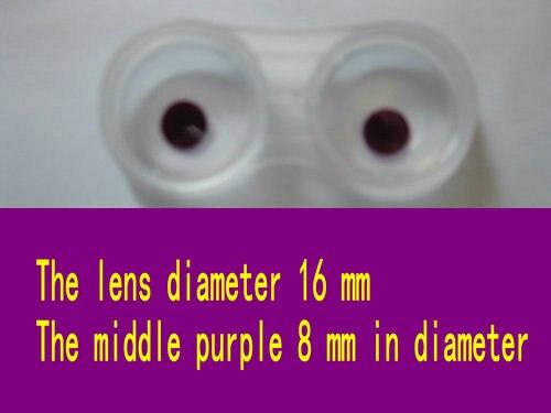 Magic poker home-lentilles de contact violettes, lentilles de contact violettes, lentilles de contact magiques, lunettes, CL - 3