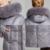 Neve Jaqueta de Inverno Clássico das Mulheres 2016 Casaco Plus Size 6xl Jaqueta Verdadeira Pele De Raposa Gola da Jaqueta Para Baixo 12278a