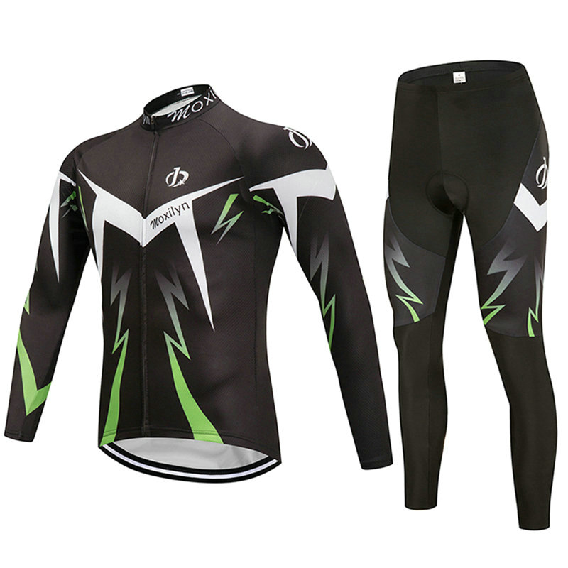 2018 Long Sleeve Cycling Jersey MTB/Bike Quick Dry Breathable Riding Jersey Clothing Long Set Bicycle Clothes Ropa Ciclismo