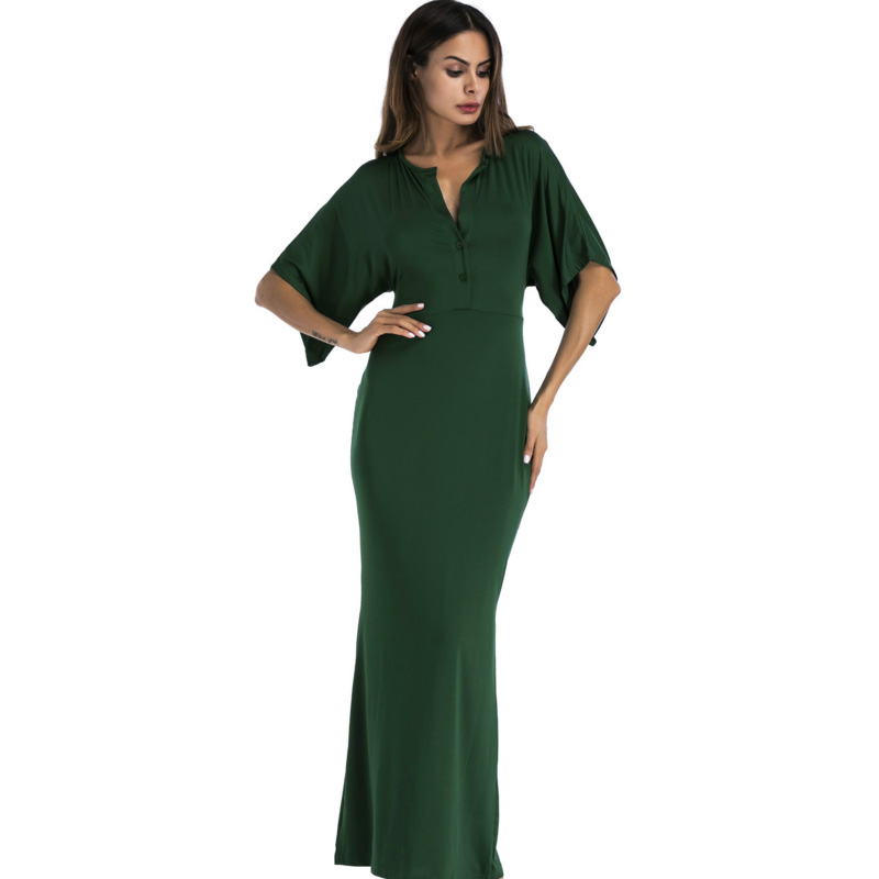 <font><b>elegant</b></font> <font><b>2018</b></font> <font><b>Autumn</b></font> <font><b>Fashion</b></font> <font><b>Women</b></font> Long Dress v-neck maxi Dress <font><b>Sexy</b></font> robe <font><b>Bodycon</b></font> Bandage Pencil high quality vestido de festa image