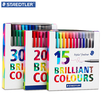 STAEDTLER Triplus Fineliner Pens 0 3mm Marker Metal Clad Tip Color Line Pen Needle Pen Gel