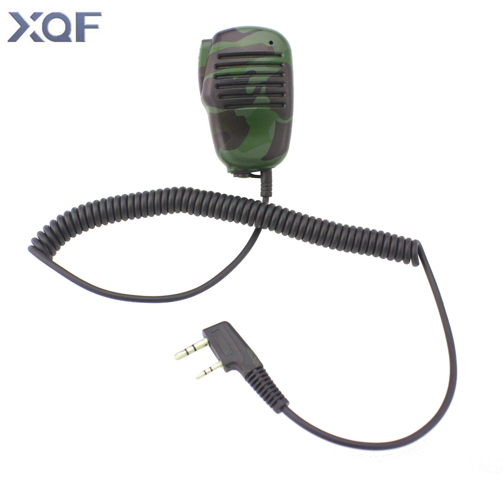 Mini Camouflage Microphone K25 Speaker Mic For Two Way Radio Kenwood BAOFENG UV-5R 5RA 5RE Plus Walkie Talkie