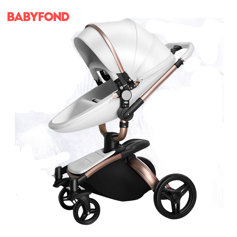 Aulon Ao Yun Long Baby Pusher Folding Bi-directional High Landscape  Shockproof Stroller Can Sit On The Trolley Cart. 057fafc3676