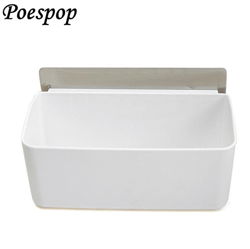 POSEPOP Wall Mount Bathroom Corner Shelf Powerful Suction Plastic Shower Basket Kitchen Wall Rack Shower Room Holders no drill