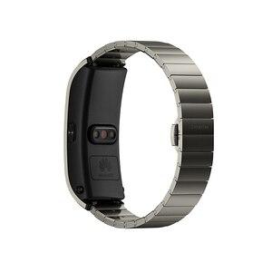 Image 5 - Original banda de Huawei B5 pulsera inteligente con color de pantalla de salud impermeable pantalla táctil Bluetooth completamente táctil científica dormir
