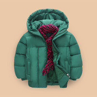 Boys Winter Coats & Jacket Children Zipper Jackets Boys Warm Thick Hooded Outerwear Kids Clothes Baby Coat 4 5 6 7 8 9 10 Years