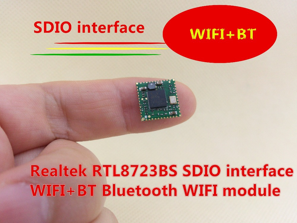 US $8 99 | Realtek RTL8723BS SDIO interface, WIFI+BT Bluetooth +WIFI  module-in Home Automation Kits from Consumer Electronics on Aliexpress com  |