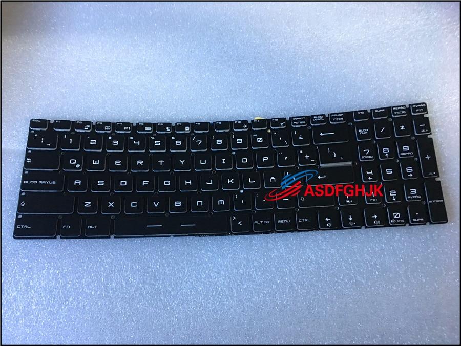 New for MSI Gaming GE62 6QC 6QD 6QE 6QF 6QL US UI Colorful Backlit Keyboard
