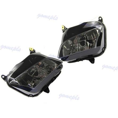 1Pair Motorcycle Headlight Head light For Honda CBR600RR CBR 600 RR F5 2007 2008 2009 2010 2011