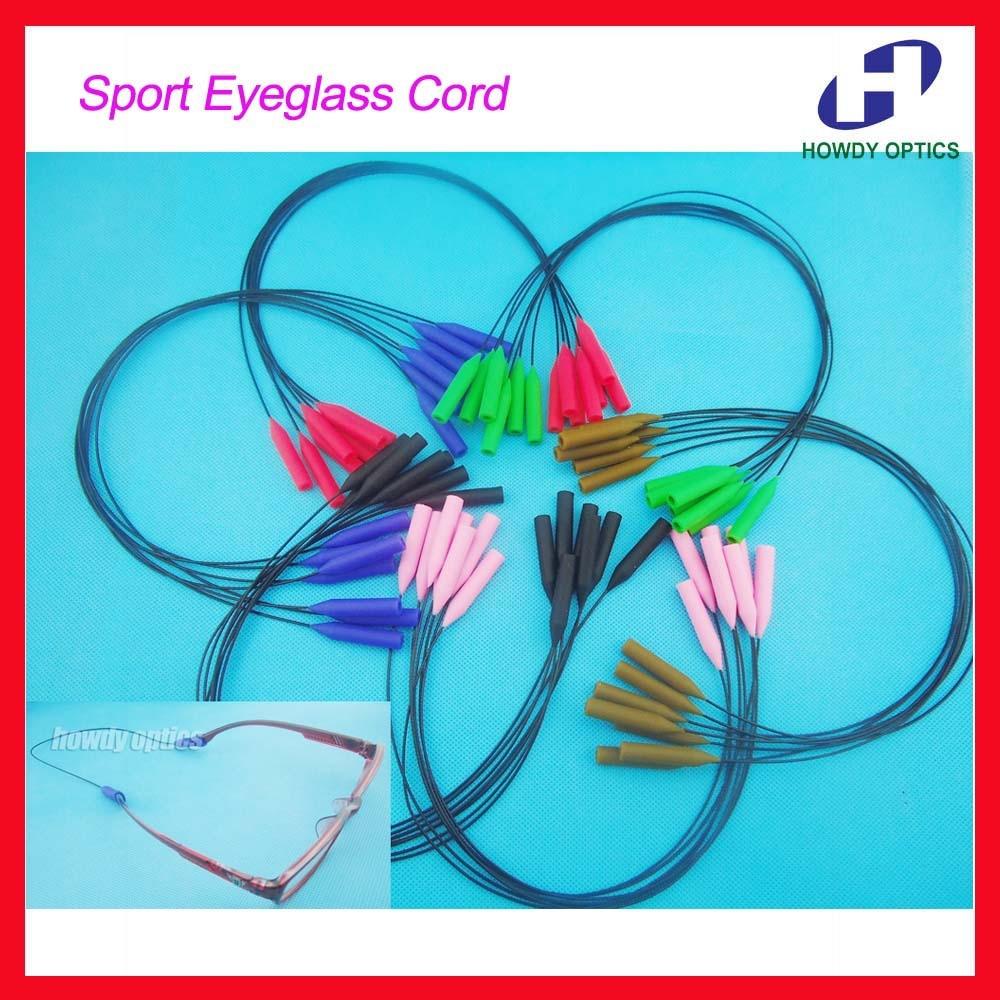 WQ001 100pcs New Arrival Wholesale Sport Eyeglasses Sunglasses Children Kids Men Women Glasses holder chain cord