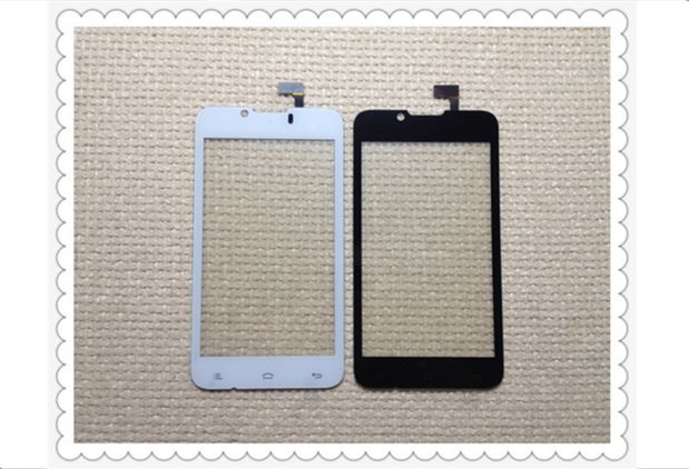 Sensor Touch Screen Cover Glass plate For QMobile