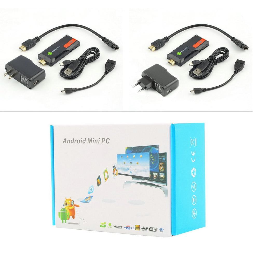MK809IV Smart TV 2 ГБ 8 ГБ Android TV Box Беспроводной HDMI ключ Android Мини ПК Quad Core RK3188T WI-FI BluetoothHot Новый прибытие