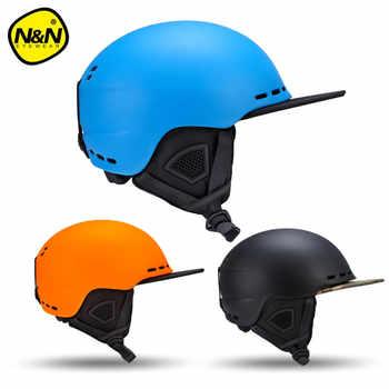Nandn Ski Helmets PC+EPS Ultralight High Quality Snowboard Helmet Men Women Skating Skateboard Skiing Helmets Head Protection