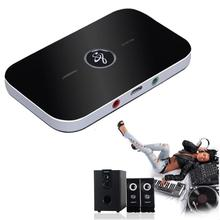 Buena Venta 2-en-1 Wireless Bluetooth A2DP de Música Audio Receptor Transmisor Adaptador AUX CABO Septiembre 28