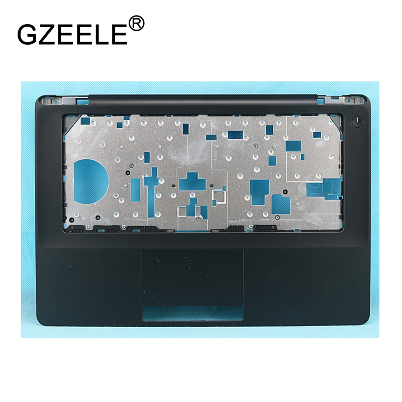GZEELE New laptop upper case base cover palmrest for <font><b>Dell</b></font> <font><b>Latitude</b></font> <font><b>E5470</b></font> without Touchpad TOP CASE <font><b>Keyboard</b></font> Bezel A154P4 black image