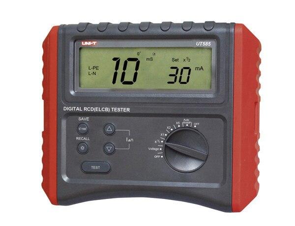 UNI-T UT585 numérique RCD testeur de Protection contre les fuites