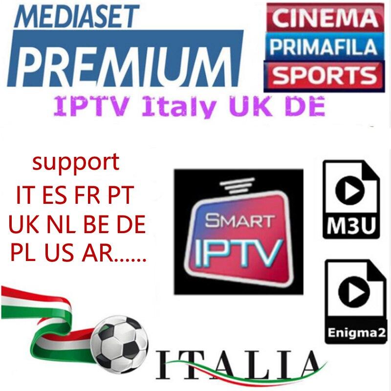1 año francés Portugal italia IPTV suscripción Brasil Suecia Albania España cuenta para Iphone M3U Smart Tv Enigma2 Mag