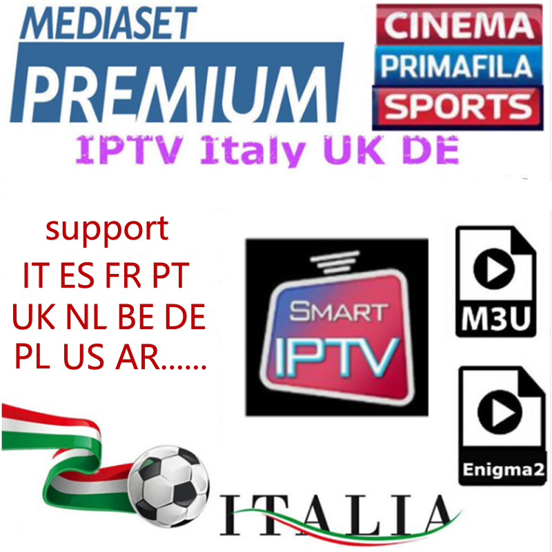 1year French Portugal Italy IPTV Subscription Brazil Sweden Albania Spain Account For Ipho
