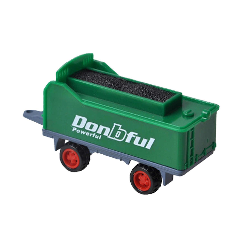 Anak-anak 4 Pcs Mini Lucu Diecast Paduan Traktor Pertanian Trailer Model Mainan Teknik Mobil Kendaraan Model Bermain Set Petani Kendaraan belt Mainan