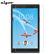 Aiyoo 9H Tempered Glass Screen Protector for Lenovo Tab 4 8 TB-8504N TB-8504X TB-8504F Tab4 8.0 inch Tablet Tempered Glass Film folio cover case for lenovo tab 4 tb 8504f tb 8504n 8 inch tablet 2017 release with stand pu leather protective case