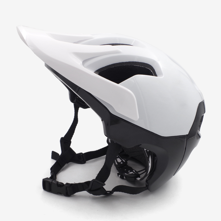Bicycle cycling helmet adult 8color mountain bike safety sunshade pvc downhill helmet trail bmx accessories sports safety helmet image